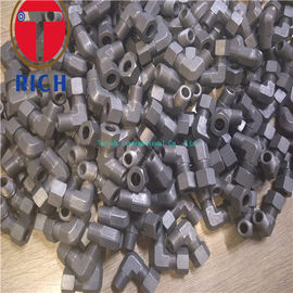 China Carbon Steel Tube Machining Thread Elbow Connector TCT06-02R For Oiled Tubes factory