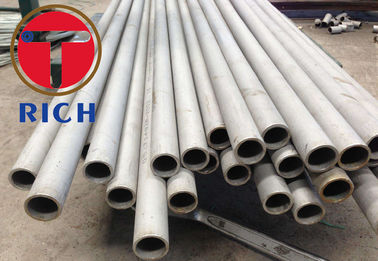 China A213 Stainless Seamless Steel Tube Annealed Pickled for Boiler / Heat Exchangers distributor