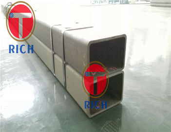 China GrB Cold Formed Square Structural Steel Pipe Seamless Plain End Protector ASTM A500 distributor