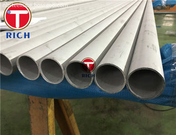 China Plain End Protector Stainless Steel Seamless Pipe With ASTM A269 Standard distributor