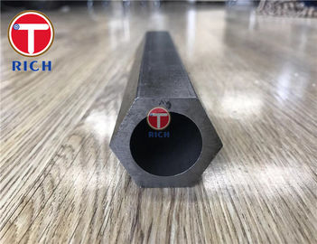 China Mechanical Hexagonal Steel Tube SAE 1020 SAE 1045 Various Shape MS Pipe factory