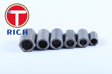 China 32mm Carbon Steel 1045 Screw Connecting Rebar Tapered Thread Rebar Coupler distributor