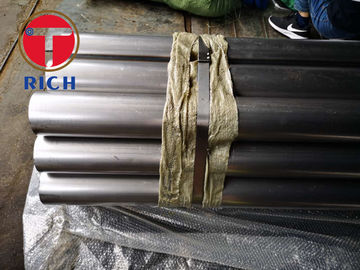 China OD127mm*WT1.5mm ERW Steel Tubes with Erased Seam for Heavy Truck Exhaust System distributor