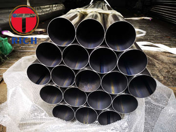 China ASTM A787 Welded Steel Tube 0.71T Carbon Steel Mechanical Tubing Muffler Pipe factory
