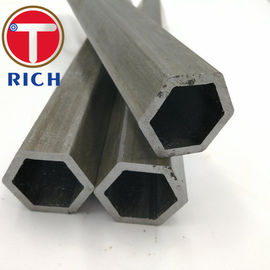 China Hexagonal Shape Seamless Cold Drawn Steel Tube / Seamless Pipes And Tubes distributor
