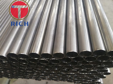 China Small Diameter Welded Steel Tube Stainless Steel Pipe Round Shape 4 - 12m Length distributor