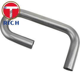 China Round Stainless Steel Welded Pipe Exhaust Pipes ERW With ASTM Standard factory