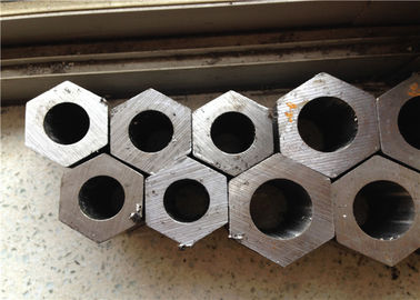 China SAE1020 Hollow Hexagonal Carbon Steel Pipe 50mm Agriculture Motor Applications factory