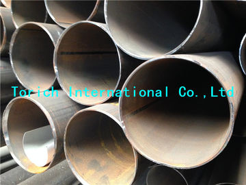 China EN10217-3 P275NL1  P355NH  P460N Welded Alloy Fine Grain Round Steel Tubes HFW SAWH SAWL factory