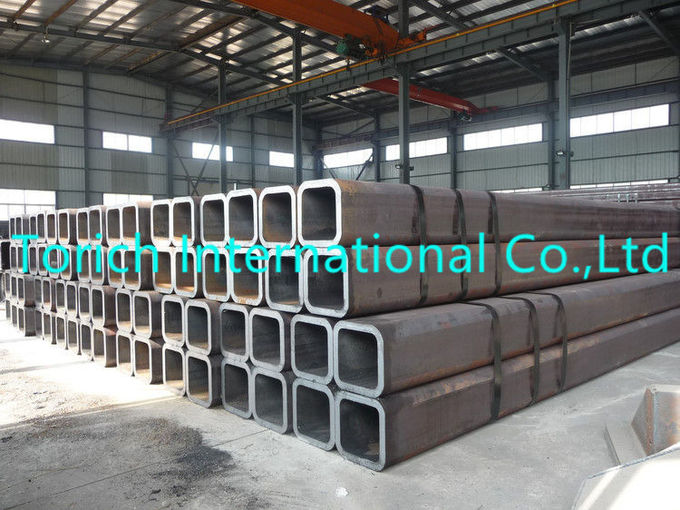 Welding And Seamless Carbon Rectangular Steel Pipe ASTM A500  For Structural