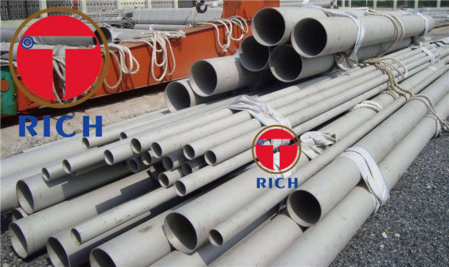 Nickel Alloy Steel Pipe Od 13.7 - 168.3mm High Precision For Steam Trubine