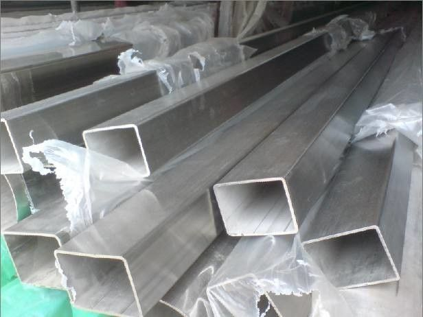 ASTM A554 Stainless Steel Welded Pipe / Square Steel Tubing For Mechanical