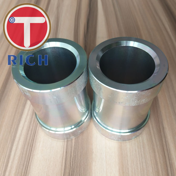 GB/T 13912-2002 Seamless Pipe Machining / Hot Dip Galvanized Machining Steel Tube For Bush Arm