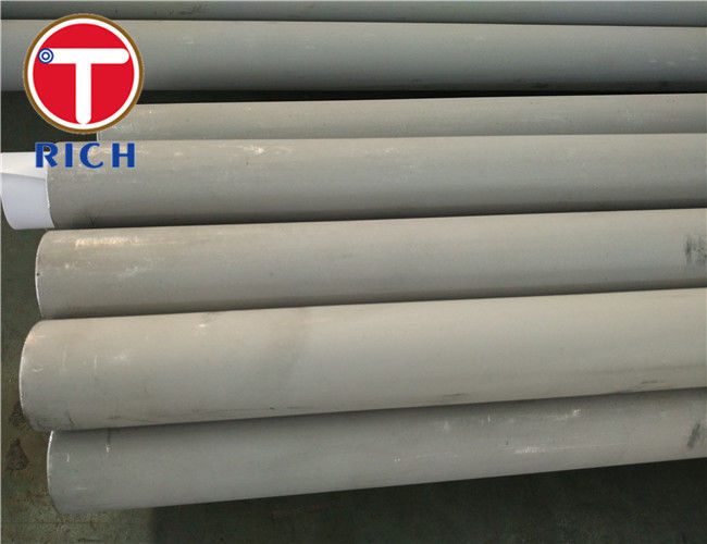 Seamless Stainless Steel Tube MT302 , MT304 Grade DNV Certificate