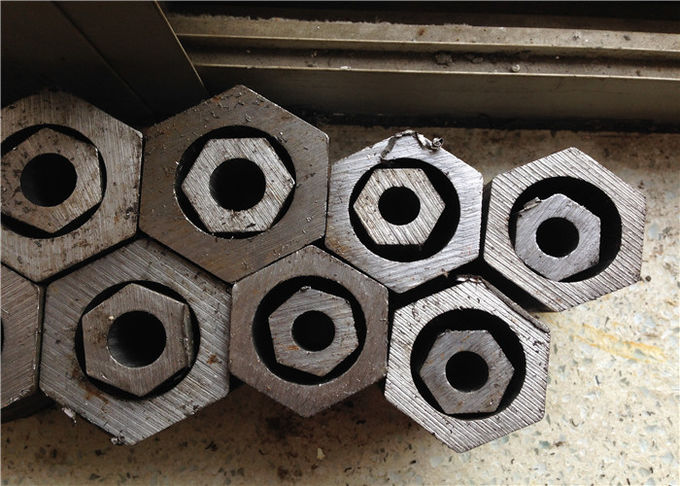 SAE1020 Hollow Hexagonal Carbon Steel Pipe 50mm Agriculture Motor Applications
