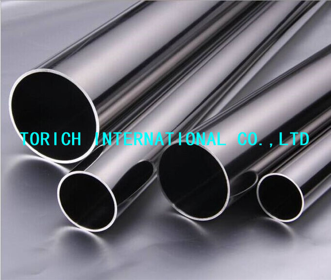ASTM A270 Bright Annealed Stainless Steel Tube , Stainless Steel Welded Tube