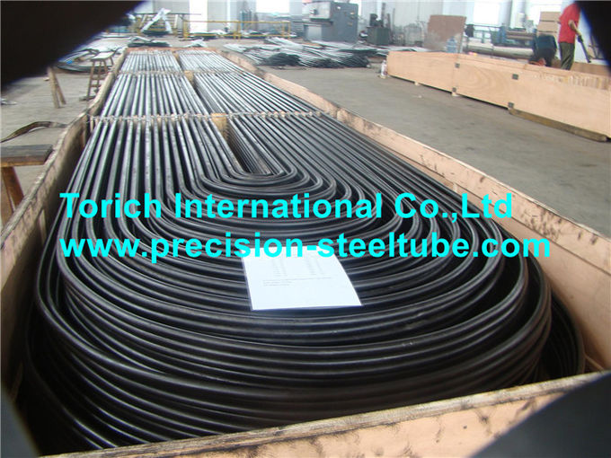 Low Carbon Heat Exchanger Seamless Steel Tube , ASTM A179 U Bend Tubes